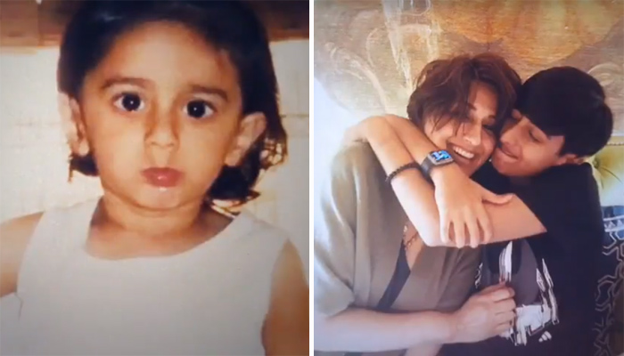 Away on son Ranveer's birthday, Sonali Bendre posts heartening video