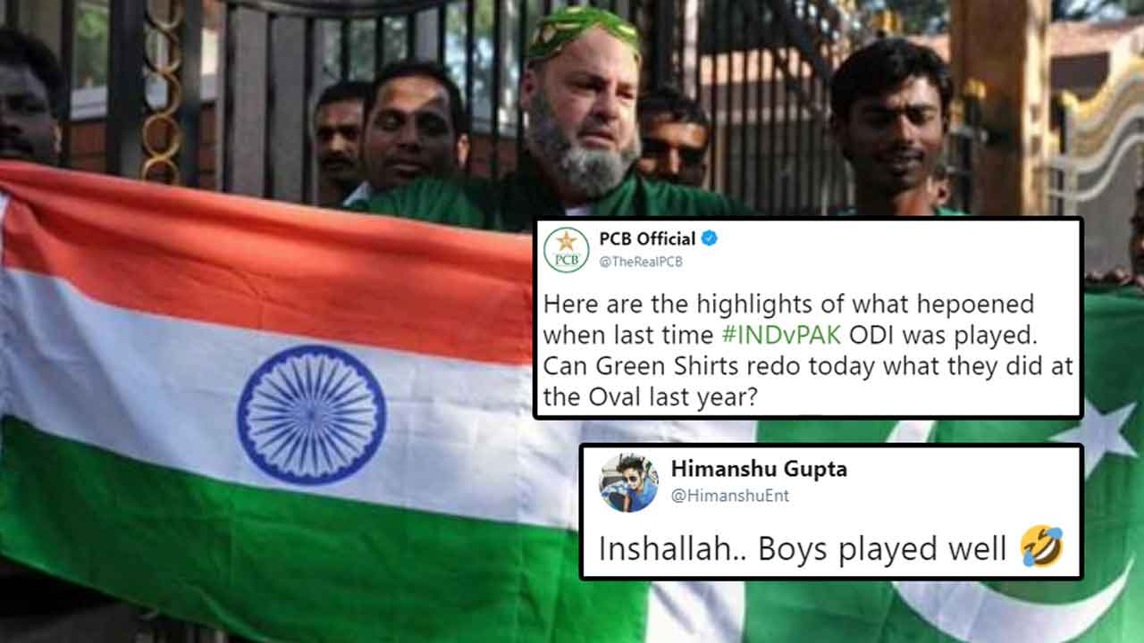 PCB Tries To Troll India Ahead Of Ind-Pak Match, Gets Trolled Instead