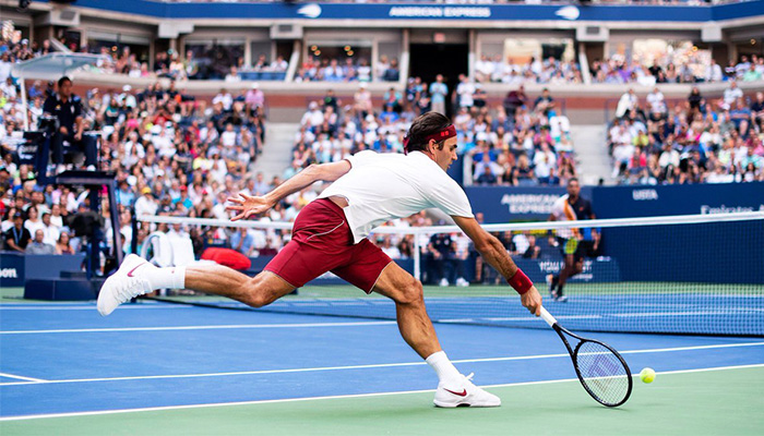 Roger Federer defeats Nick Kyrgios in 2018 US Open third round