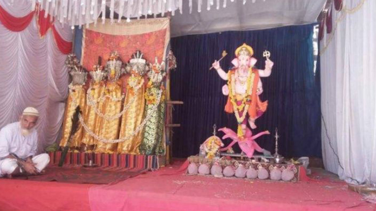 Maharashtra Village Gets Ganpati And Muharram Sawari Under