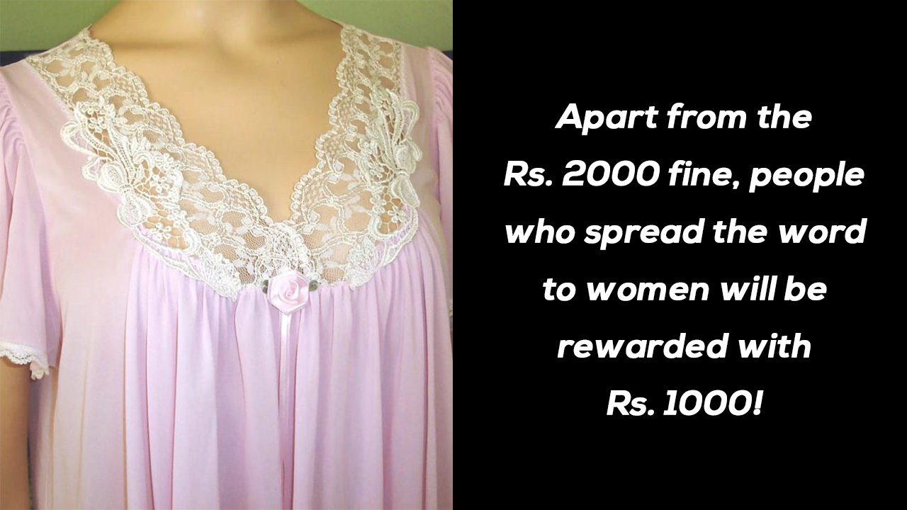 This Andhra Village Is Fining Women Rs 2000 For Wearing Nighties Before  Sunset! 3e9805f03