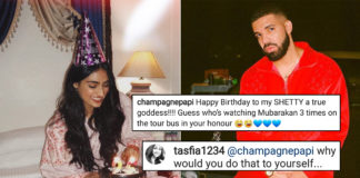 Drake's Watching 'Mubarakan' Thrice To Honour Athiya Shetty's BDay, And We're Worried For Him