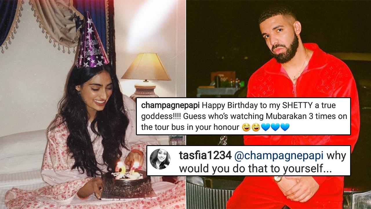 Drake S Watching Mubarakan Thrice To Honour Athiya