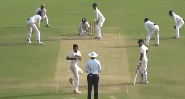 Shiva Singh hogs the limelight with his 360-degree bowling run-up