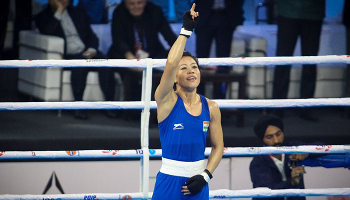 India's Kom wins record sixth world boxing gold