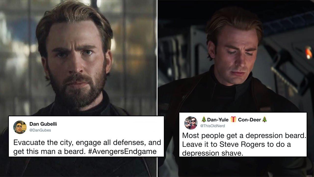 Image result for WHAT HAPPENED TO THAT SWEET CAPTAIN AMERICA BEARD, AND HOW WILL WE LIVE WITHOUT IT?