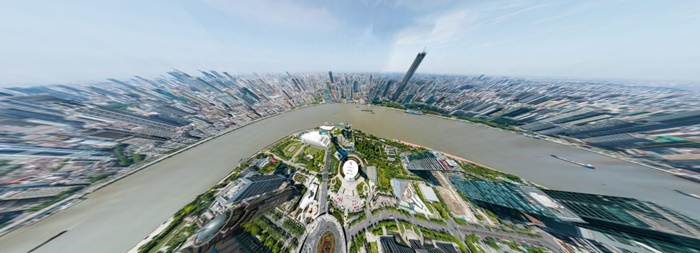 Shanghai City's Picture Is World's First Panorama With