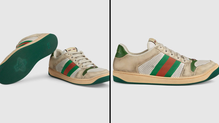 Gucci Is Selling Dirty Sneakers For ₹65