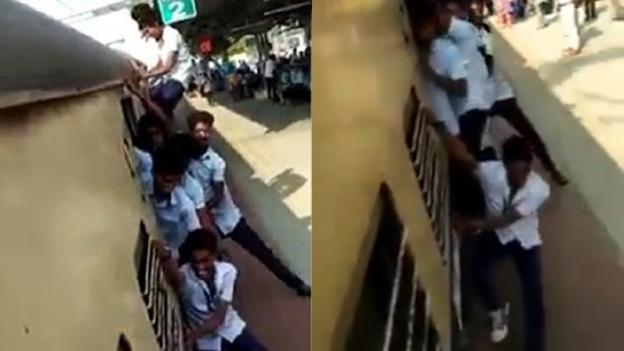 Image result for chennai youngsters train stunts