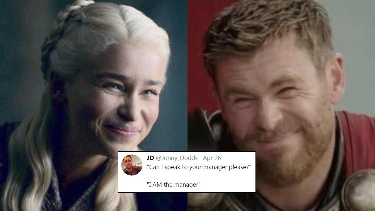 Resultado de imagen para thor daenerys meme