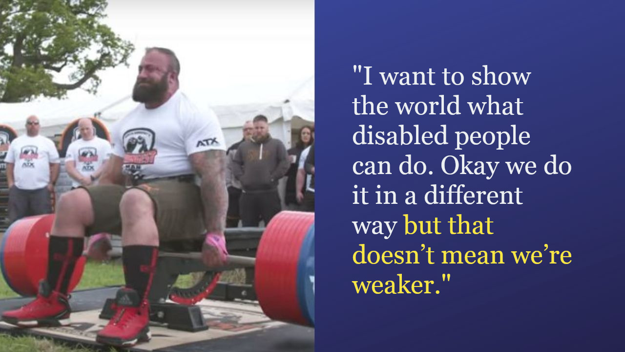 Disabled Army Veteran Lifts 505 Kg & Sets New Guinness Record