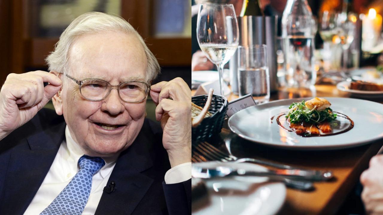 Warren Buffett Auctions Off A Billionaire Style Lunch For