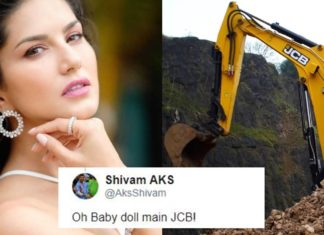 Sunny Leone Reacts To #JCBkikhudayi By Sharing A Picture That Throws Fans In A Frenzy!