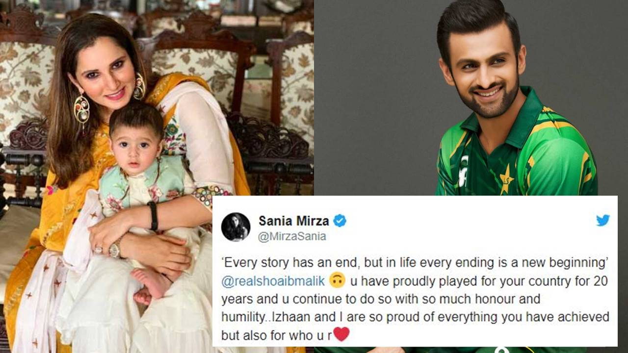 Sania Mirza Shares Emotional Message As Shoaib Malik Retires