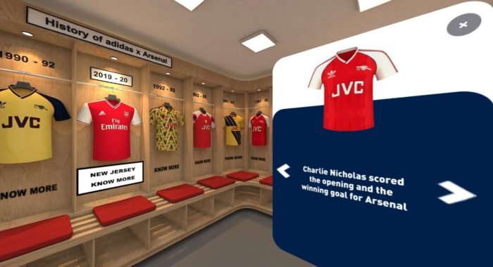big sale d2696 1fd84 Going Gaga Over The New adidas Arsenal Kit? Here's Something ...