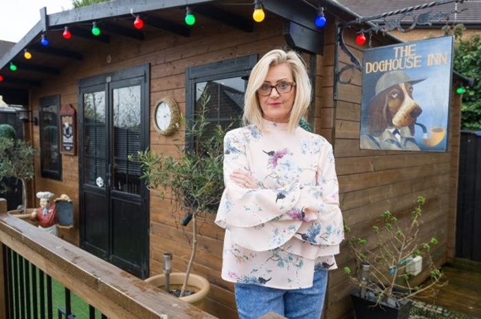 Image result for Wife Builds Husband A Pub In Their Backyard So He'll Stay Home & Stop Going Out For Drinks