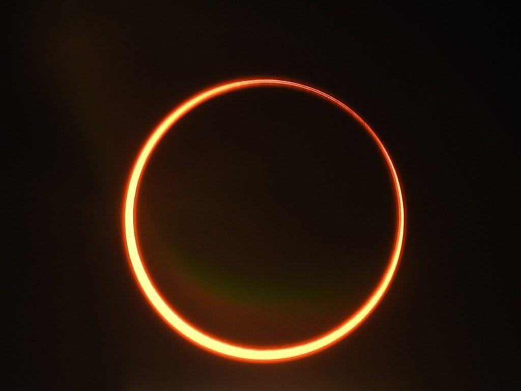 Gulftimes : Partial solar eclipse seen from Qatar