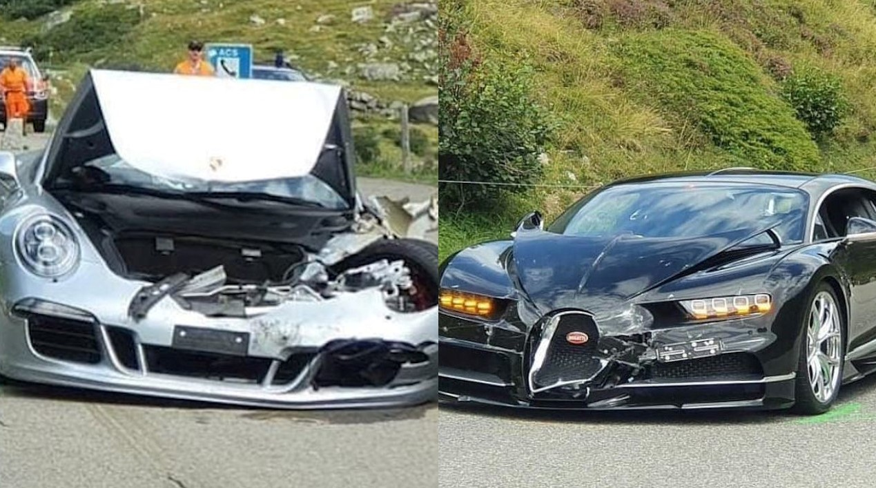 30 Crore Damages Caused By Car Crash In Swiss Alps
