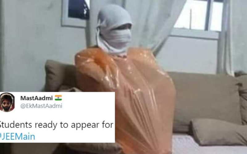 Twitter Floods With Blessings Memes For Jee Main Aspirants