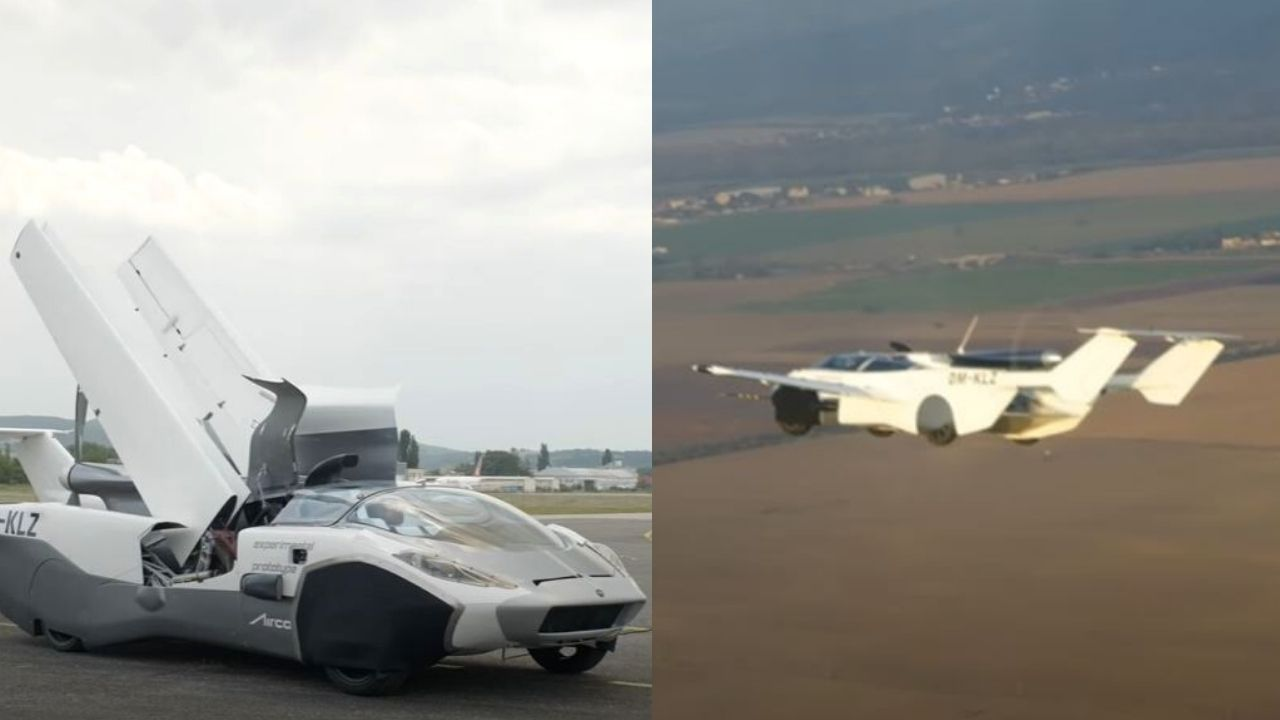 Car That Transforms Into A Plane Looks Straight Out Of A James Bond Movie, Watch Test Flight