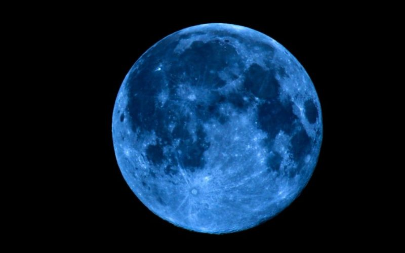 What makes the next hunter's blue moon so rare