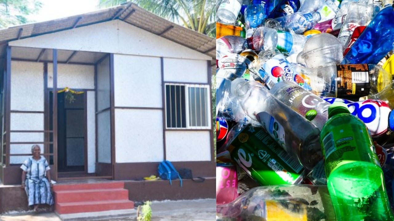Karnataka Gets It's 1st Eco-Friendly House Made Using Plastic Waste