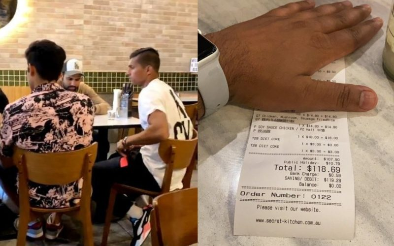 India players in isolation after restaurant visit