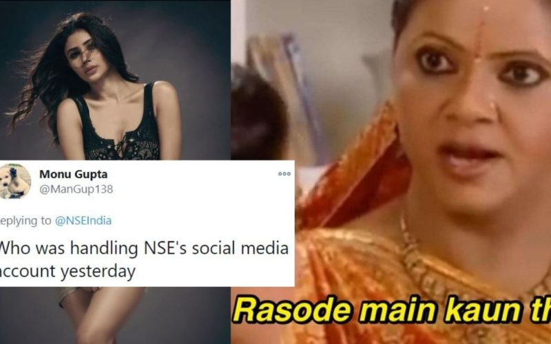 NSE Accidentally Tweets Photos Of Mouni Roy, Apologises Later For 'Human Error'